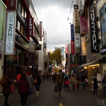 Myeong-dong, South Korea.